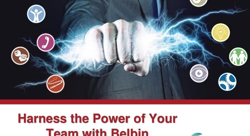 Webinar Slides: Harness the Power of Your Team with Belbin - July 25, 2016