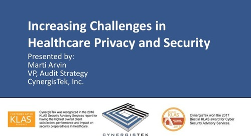 Increasing Challenges in Healthcare Privacy and Security