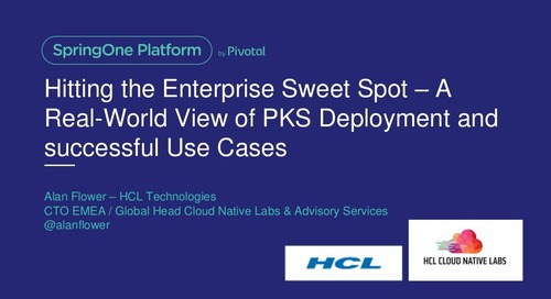 Hitting the Enterprise Sweet Spot—A Real-World View of PKS Deployment and Successful Use Cases
