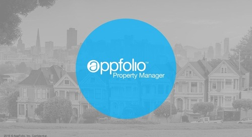 Managing Associations In AppFolio (webinar slides)