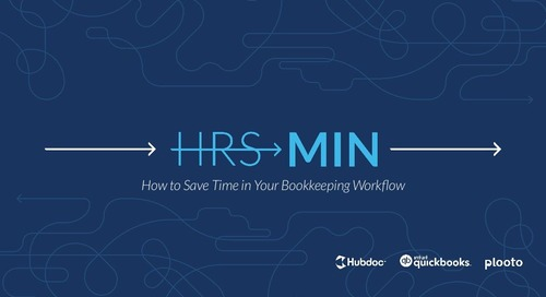 Hours to Minutes: How to Save Time in Your Bookkeeping Workflow [Event]