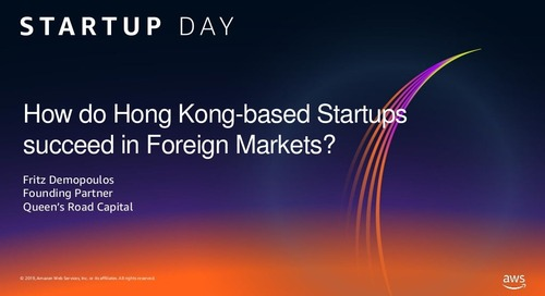 How do Hong Kong-based Startups succeed in Foreign Markets