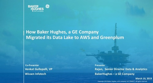 How Baker Hughes, a GE Company