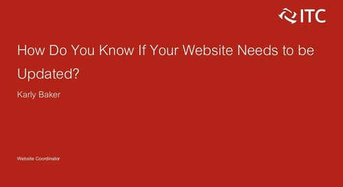 How Do You Know if Your Website Needs to be Updated?