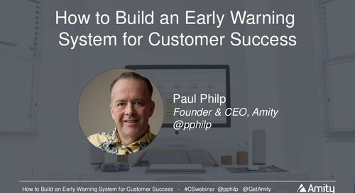 How to Build an Early Warning System for Customer Success Slides