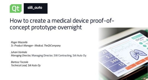 How to create a medical device proof of-concept prototype overnight