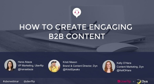 How to Create Engaging B2B Content
