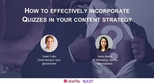 How to Effectively Incorporate Quizzes in Your Content Strategy
