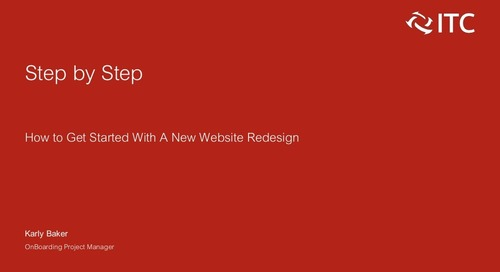 How to Get Started with a New Website Redesign
