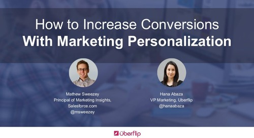 How to Increase Conversions With Marketing Personalization