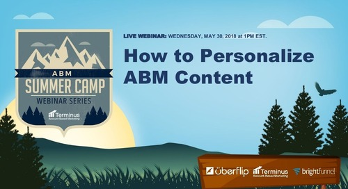 [Webinar Slides] How to Personalize ABM Content