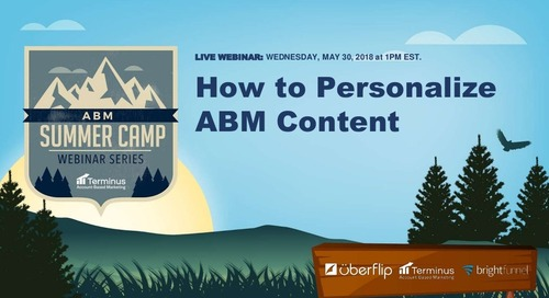 How to Personalize ABM Content