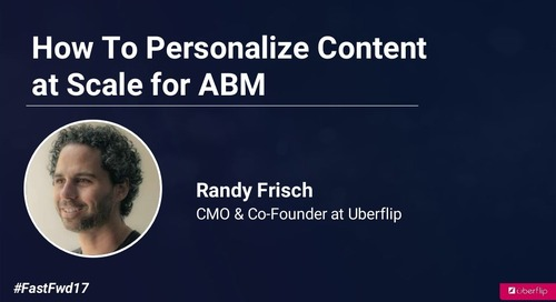 How to Personalize Content at Scale for ABM