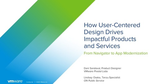 July 30: How User-Centered Design Drives Impactful Products and Services