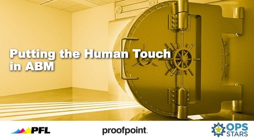 Infusing the Human Touch in ABM