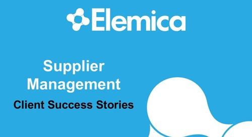 """Ignite2015 EU Procurement Breakout """"Supplier Management: Client Success Stories"""" Slides"""