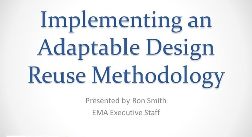 Implementing a Flexible Design Reuse Methodology