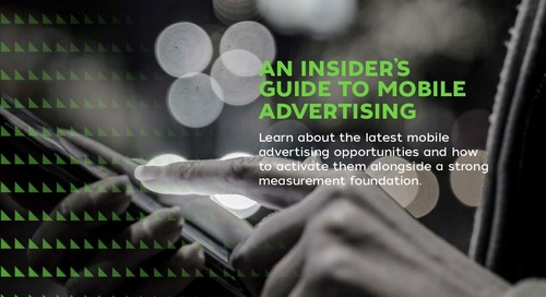 An Insider's Guide to Mobile Advertising