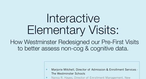 Interactive Elementary Visits