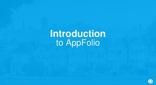 Introduction to AppFolio