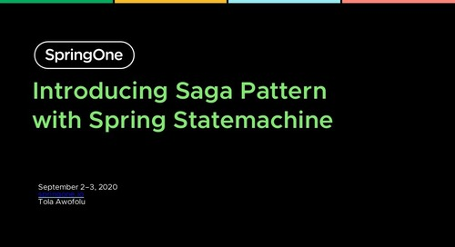Introducing Saga Pattern in Microservices with Spring Statemachine