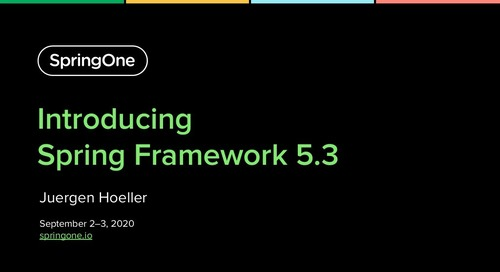 Introducing Spring Framework 5.3