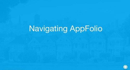 Intro APM: Navigating