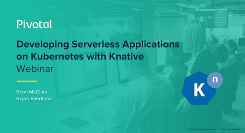 Developing Serverless Applications on Kubernetes with Knative