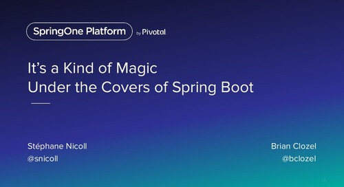 It's a Kind of Magic: Under the Covers of Spring Boot
