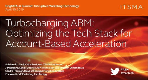 [Webinar] Turbocharging ABM: Optimizing the Tech Stack for Account-Based Acceleration