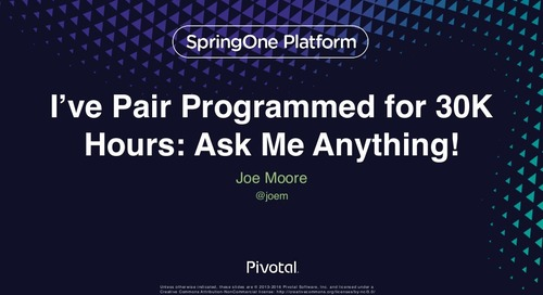 I've Pair Programmed for 30,000 Hours: Ask Me Anything!