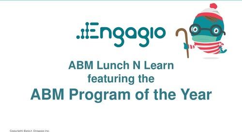 Engagio & VersionOne - ABM Program of the Year