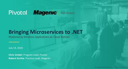 Bringing Microservices to .NET: Modernizing Windows Applications as Cloud-Native
