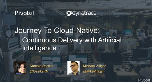 Journey to Cloud-Native: Continuous Delivery with Artificial Intelligence