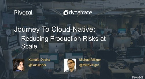Journey to Cloud-Native - Reducing Production Risks at Scale
