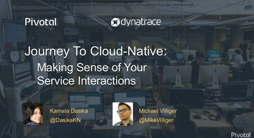 Journey to Cloud-Native: Making Sense of Your Service Interactions