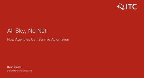 All Sky, No Net: How Agencies Can Survive Automation