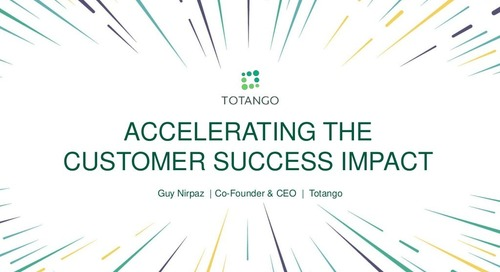 Accelerating The Customer Success Impact