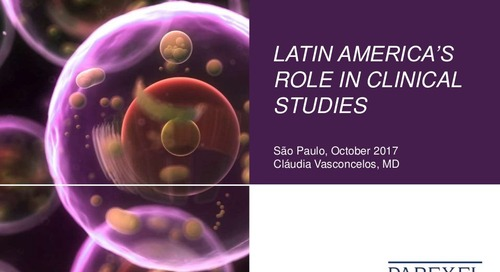 Latin America´s Role In Clinical Studies