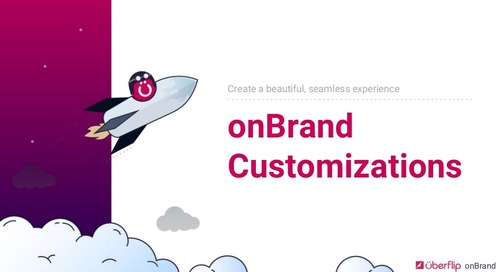 Uberflip onBrand Customizations Showcase