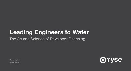 Leading Engineers to Water: The Art, Science, and Culture of Technical Coaching