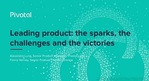 Leading Product: The Sparks, the Challenges, and the Victories