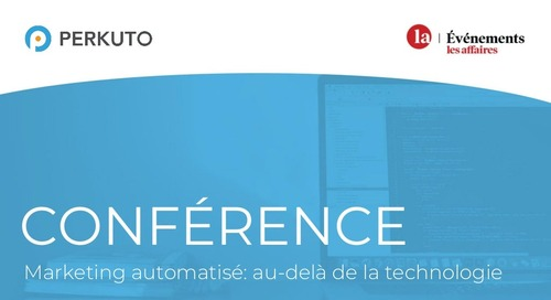 Les Affaires Conference - Marketing Automation - Slide Deck (in French)