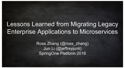 Lessons Learned from Migrating Legacy Enterprise Applications to Microservices