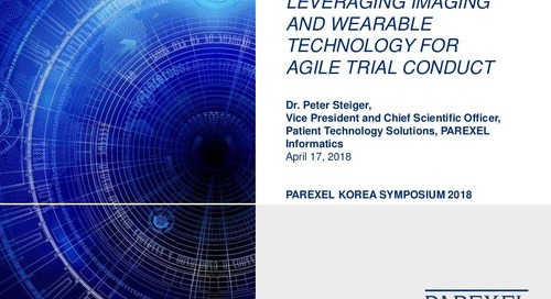 Leveraging Imaging and Wearable Technology For Agile Clinical Trials