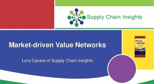 "Lora Cecere  ""Market Driven Value Network"""