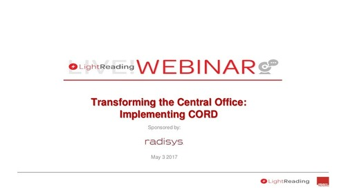 Transforming the Central Office:  Implementing CORD
