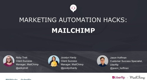 Marketing Automation Hacks 2016: MailChimp
