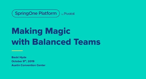 Making Magic with Balanced Teams