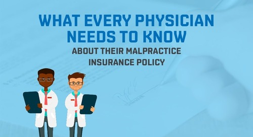 About your malpractice insurance policy